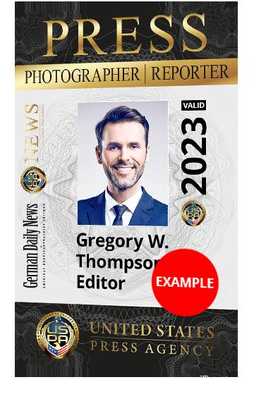 Get A Press Id Card The Uspa Reporter Card